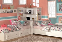 Bedrooms  / Ideas for when the girls share their room