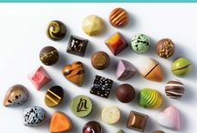 Signature Chocolates / Check out our fan-favorite bonbon flavors like Peanut Butter Banana, Cookies 'n' Cream, Salted Caramel, and more!