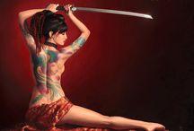 Girl + Sword