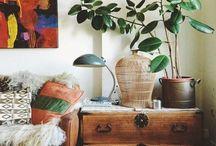 bohem design og planter