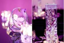 Brudprojekt / Elegant brud lila/rosa