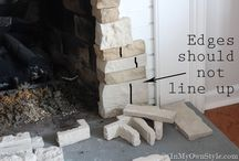 DIY fireplace examples and how to instructions.