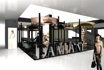 Damiani corner / Concept for Damiani corner in a shopping center in Singapore
