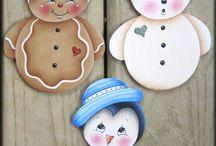 zully y muñecos  de nieve