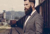 barbă medie-lunga