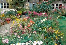 puutarha ja englantilaiset talot,Englannin maisemat / Englantilainen puutarha