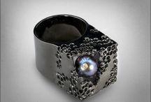 German Kabirski Design / Oryginalna biżuteria genialnego projektanta. Szlachetne kamienie i metale.