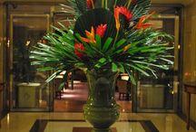 hotel lobby flower