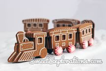 Gingerbread House Trains, Planes, Ships, Automobiles, and Submarines