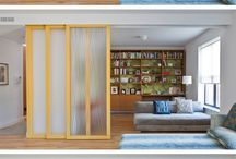 sliding barn door room divider