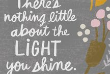 HAPPINESS QUOTES / Inspiring and enlightening quotes about light.