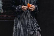 kožená bunda se šaty