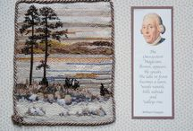 Exhibition at Stansted Park / Capability Brown 300 year Anniversary. Members of Portsmouth, Wokingham, Reading & Farnborough Branches of the Embroiderers Guild exhibited at Stansted Park, Rowlands Castle, Hampshire, PO9 6DX From April to September 2016