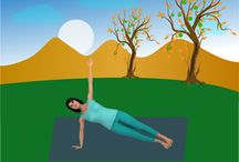 Winter Yoga for Weight Loss: Core Strengtheners / It is not uncommon for many Yoga practitioners to put on a few extra pounds during the winter season. If this is the case for you, practicing a vigorous, flowing series of Yoga postures, that includes a series of core strengthening poses, will help you to maintain a healthy weight and a strong core. #corestrengtheners #winteryoga #weightloss http://yoga-teacher-training.blogspot.com/2015/02/winter-yoga-for-weight-loss-core.html