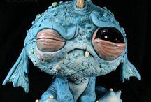 CHRIS RYNIAK'S: lil monsters / by в. нιgнℓαи∂єя