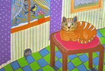 Ilustracja. / Bajki,opowiadania dla dzieci,ilustracje do książek.Agata W-B