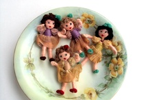 Thread Wrapped Dolls / by Deanne Crim