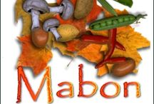 Mabon - Fall Equinox / Mabon is the time of the final harvest of crops. It is a time of rest and a time  of balance, because day and night are of equal length.