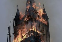 Burned churches