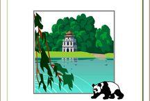 Le panda / Lapbook sur le panda, de l'Association Carpe Diem