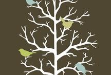 birds, trees, etc. ART / by Sherry Glock