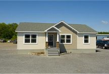 The Harvest Gold / A former model home of ours - perfect for an entry-level home buyer.