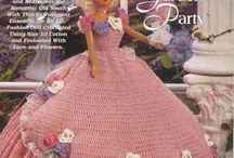 BARBIE, CROCHET , KINITING / by Darah Baskin