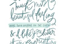 Beautiful Words / by Amber Bandy