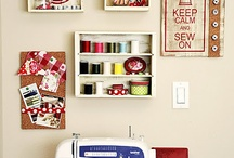 Craft room ideas / by Tricia Borboa Matsuda