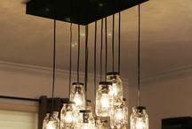 lámparas y candelabros