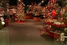 Showrooms and Displays / A collection of imaginative and festive displays of Old World Christmas ornaments from our shows and vendors.