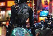 cyberpunk outfits