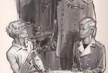 Saga Le Prince Eric / Le Prince Éric est le nom d'une série de six romans de Serge Dalens, illustrés par Pierre Joubert, publiés à l'origine aux éditions Alsatia, dans la collection Signe de piste.  Éric, jeune scout, se retrouve à 15 ans prince de la principauté imaginaire de Swedenborg, fictivement située en Scandinavie, aux prises avec d'innombrables dangers. Il les traverse grâce à l'amitié fidèle et la bravoure de ses camarades de scoutisme.