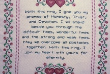 Crossstitch / by Tammy Ezell