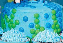 Matthews bday cake