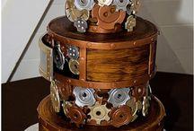 steampunk torták