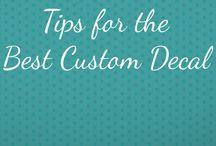 Custom Decals in San Diego / Custom Decals in San Diego County