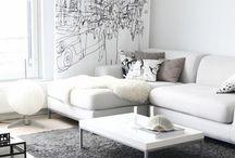 Sofas blancos