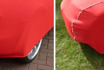 Indoor Luxury Car Covers / These indoor Car Covers are our luxury brand of indoor cover. Custom made to fit the profile of your car it is available in a wide choice of colours and contrasting piping. 2 year guarantee