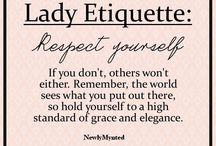 lady  Etiqutte