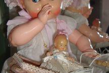 gamle dukker