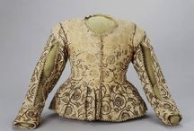 Embroidered Jackets and other lovelies / Linen and dark thread. Though my 17th century-fan girl-heart beats for the art and clothes of the Netherlands, I am absolutely in love with these embroidered jackets!  (& other 17th century lovelies)