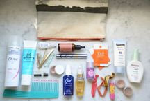 Looking Good On-The-Go / Travel-friendly products and beauty tips