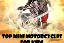 Most Popular Mini Motorcycles for Kids / These Mini Motorcycles for Kids are safe and bring a lot of fun for kids