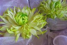 МК цветы из фоамирама