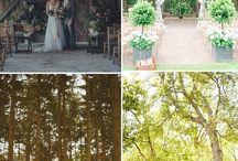 Outdoor Wedding Ceremony - Cérémonie laïque / Inspirationen für Freie Trauungen