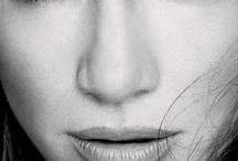 Faces B&W Actress