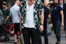 мужской стиль рубашка 50-е