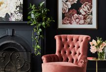 Armchair Glamour / Armchairs are an easy way to introduce a fashionable, on trend look to your home.
