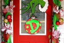 Office Door Christmas